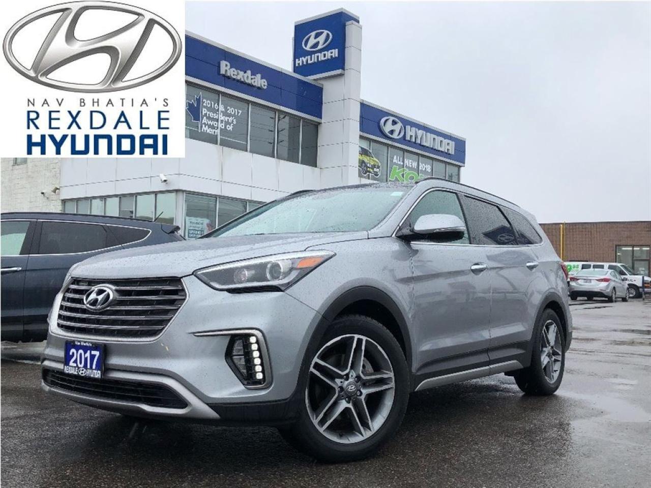 2017 Hyundai Santa Fe XL Limited - NEW ARRIVAL, LOW KM.