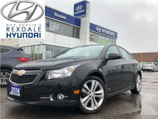 Used 2014 Chevrolet Cruze 2LT -  VERY CLEAN VEHICLE! for sale in Etobicoke, ON