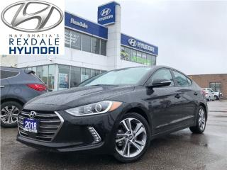Used 2018 Hyundai Elantra GLS ** AUTO A/C PWLM &  LOW KM. for sale in Etobicoke, ON