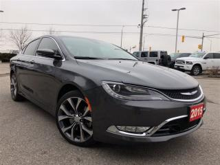 Used 2015 Chrysler 200 C**PANORAMIC SUNROOF**PARK ASSIST** for sale in Mississauga, ON