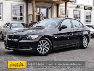Used 2006 BMW 3 Series 325i AUTO, LEATHRETTE, ROOF, XENONS, LOW KMS for sale in Ottawa, ON