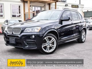 Used 2014 BMW X3 M Sport xDrive35i NEVADA LEATHER NAVI PANO ROOF for sale in Ottawa, ON