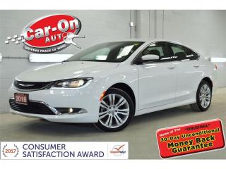 Used 2016 Chrysler 200 Limited HTD SEATS REAR CAM ALLOYS ONLY 34,000KM for sale in Ottawa, ON