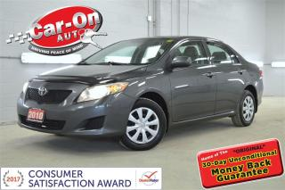 Used 2010 Toyota Corolla AUTO A/C ONLY 87,000 KM & ONLY $77 B/W o.a.c for sale in Ottawa, ON