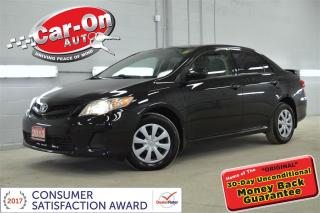 Used 2013 Toyota Corolla AUTO A/C BLUETOOTH ONLY $88 Bi-weekly o.a.c for sale in Ottawa, ON