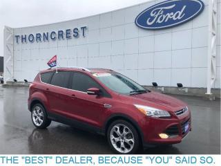 Used 2016 Ford Escape Titanium-1.9%-CPO-Warranty for sale in Etobicoke, ON