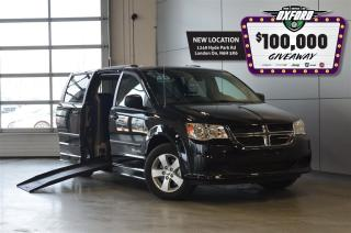 Used 2017 Dodge Grand Caravan SE Mobility - Side Entry, Pwr Folding Ramp for sale in London, ON