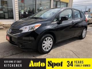 Used 2014 Nissan Versa Note SV/LOW,LOW KMS/PRICED-QUICK SALE! for sale in Kitchener, ON