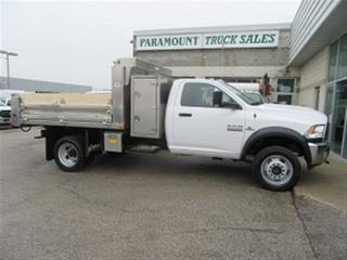 Used 2018 RAM 5500 Reg Cab 4x4 diesel new 10 ft alum dump for sale in Richmond Hill, ON