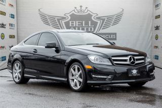Used 2013 Mercedes-Benz C-Class C350~4MATIC~NAVI ~PANOROOF~ 18 AMG RIMS for sale in North York, ON