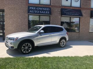 Used 2017 BMW X3 xDrive28i for sale in Concord, ON