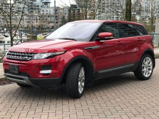 Used 2012 Land Rover Evoque LOCAL,ONE OWNER,4WD,PANORAMIC ROOF for sale in Vancouver, BC