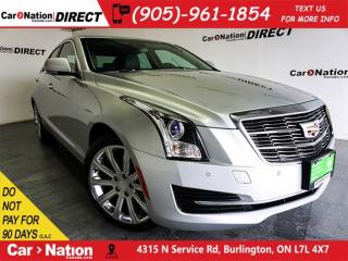 Used 2018 Cadillac ATS 2.0L Turbo Luxury| AWD| NAVI| OPEN SUNDAYS| for sale in Burlington, ON