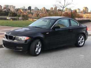 Used 2009 BMW 128I 6SP MANUAL,NO ACCIDENT,INSPECTED IN FULL for sale in Vancouver, BC