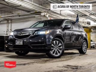 Used 2016 Acura MDX Navi Accident Free| Remote Start| Blind Spot for sale in Thornhill, ON