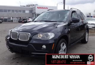 Used 2008 BMW X5 4.8i |NAVIGATION|PANO SUNROOF|DVD|BACKUP CAMERA| for sale in Scarborough, ON