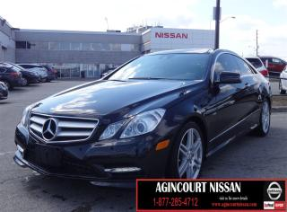 Used 2012 Mercedes-Benz E-Class Base E 350|NAVIGATION|BLIND SPOT|PANO SUNROOF| for sale in Scarborough, ON
