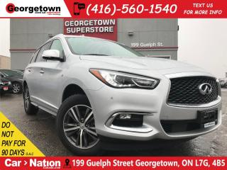 Used 2018 Infiniti QX60 360 CAM | NAVI | AWD | SUNROOF | LEATHER | for sale in Georgetown, ON