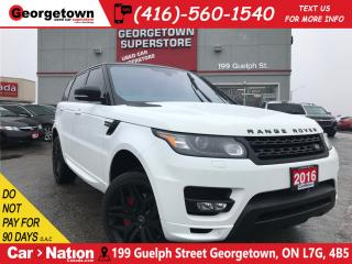 Used 2016 Land Rover Range Rover Sport Autobiography | NAVI | SUPERCHARGED | for sale in Georgetown, ON