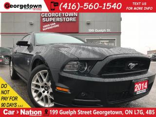Used 2014 Ford Mustang Premium | LEATHER | HEATED SEATS | 3.7L V6 | for sale in Georgetown, ON