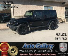 Used 2011 Jeep Wrangler Unlimited Sahara for sale in Winnipeg, MB