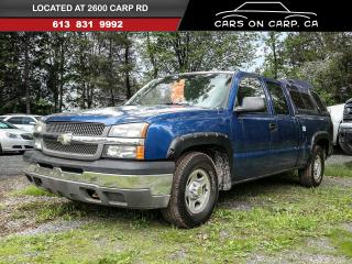 Used 2003 Chevrolet Silverado 1500 LS Ext. Cab Long Bed 2WD for sale in Stittsville, ON