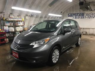 Used 2016 Nissan Versa Note SV*PHONE CONNECT*BACK UP CAMERA*CLIMATE CONTROL*TRACTION CONTROL*KEYLESS ENTRY*POWER WINDOWS/LOCKS/HEATED MIRRORS* for sale in Cambridge, ON