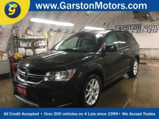 Used 2012 Dodge Journey R/T*AWD*NAVIGATION*REAR DVD PLAYER*POWER SUNROOF*LEATHER*BACK UP CAMERA*KEYLESS ENTRY w/REMOTE START**U CONNECT PHONE*PUSH BUTTON IGNITION*HEATED FRON for sale in Cambridge, ON