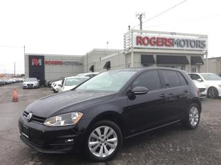 Used 2015 Volkswagen Golf TDI - 6SPD - LEATHER - SUNROOF - REVERSE CAM for sale in Oakville, ON