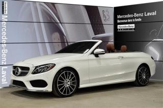 Used 2017 Mercedes-Benz C 300 Awd Cabriolet Cabrio for sale in Laval, QC