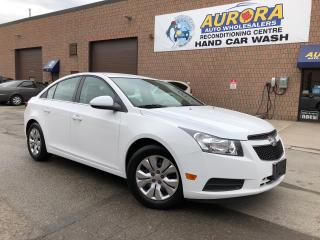 Used 2013 Chevrolet Cruze LT Turbo - Bluetooth - Automatic - 87K's for sale in Aurora, ON