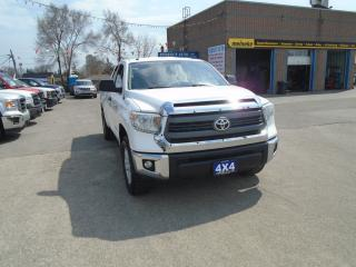 Used 2014 Toyota Tundra SR5 DOUBLE CAB 4X4 for sale in North York, ON