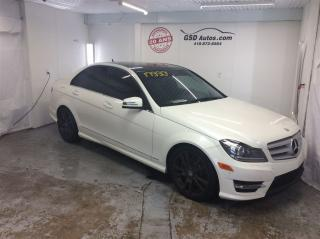 Used 2013 Mercedes-Benz C350 4MATIC AWD for sale in L'ancienne-lorette, QC