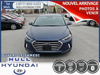 Used 2018 Hyundai Elantra Gl, Apple Carplay for sale in Gatineau, QC