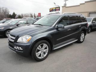 Used 2011 Mercedes-Benz GL-Class GL 450-4Matic-Cuir-Navi-ToitPano a vendr for sale in Laval, QC