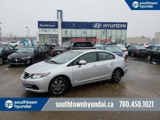 Used 2015 Honda Civic EX/SUNROOF/BACKUP CAM/HEATED SEATS for sale in Edmonton, AB