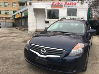 Used 2007 Nissan Altima 2.5 S Safety and E Test is Included The Price for sale in Scarborough, ON
