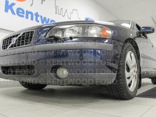 Used 2004 Volvo S60 S60 2.5T heated power leather seats and a sunroof for sale in Edmonton, AB