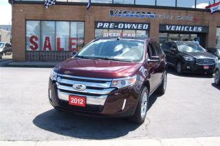 Used 2012 Ford Edge SEL/AWD/NAVIGATION/LEATHER/SUNROOF for sale in North York, ON