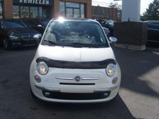 Used 2012 Fiat 500 Lounge/BOSE/PANO ROOF/RED LEATHER for sale in North York, ON