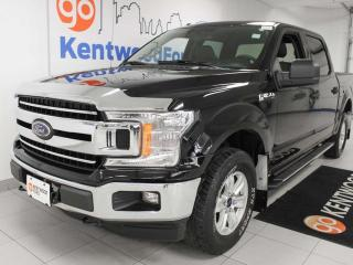 Used 2018 Ford F-150 XLT 4x4 supercrew with six seats and a back up cam for sale in Edmonton, AB