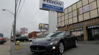 Used 2011 Maserati GranTurismo S S Trim/PININFARINA LEATHER/BACK UP SENSORS for sale in North York, ON