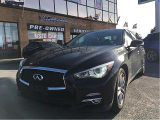Used 2014 Infiniti Q50 Premium/ Navigation/AWD/Back-Up Camera for sale in North York, ON