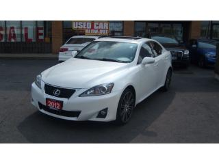 Used 2012 Lexus IS 250 SUNROOF/LEATHER for sale in North York, ON