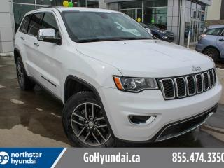 Used 2017 Jeep Grand Cherokee LTD: LEATHER/REMOTE START/HEATED SEATS & STEERING for sale in Edmonton, AB