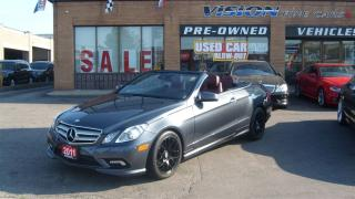 Used 2011 Mercedes-Benz E-Class E350/NAVIGATION/BACKUP SENSOR/LEATHER for sale in North York, ON