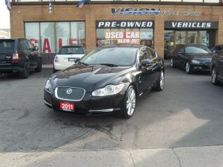 Used 2011 Jaguar XF Premium Luxury/NAVIGATION/SUNROOF/LEATHER for sale in North York, ON