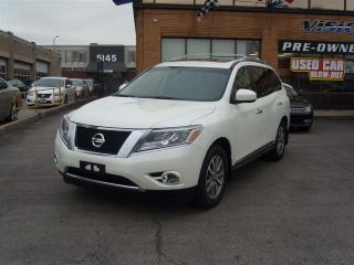 Used 2015 Nissan Pathfinder SL/NAVI/AWD/PANORAMIC SUNROOF/BACK UP SENSORS for sale in North York, ON