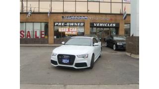 Used 2014 Audi RS 5 4.2/CLEAN CAR PROOF/NAVIGATION/BLIND SPOT for sale in North York, ON