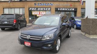 Used 2013 Volkswagen Tiguan 2.0 TSI Highline/NAVI/PANO ROOF/BACK UP CAMERA for sale in North York, ON